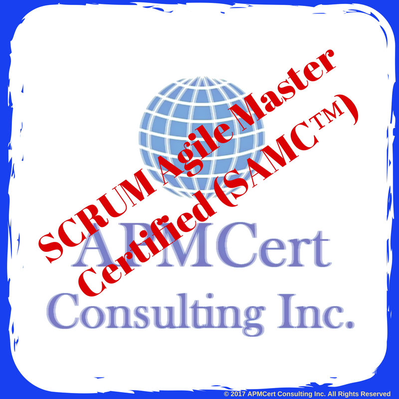 Scrum Agile Master Certified Samc Online Certification Exam