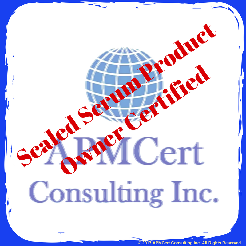 Scaled Scrum Product Owner Certified Online Certification Exam