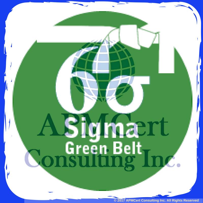 Six Sigma Green Belt Online Course Online Certification Exam Apmcert