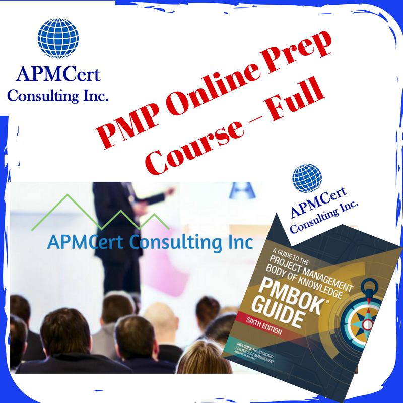 Pmp Certification Exam Prep Course Pmp Training Course
